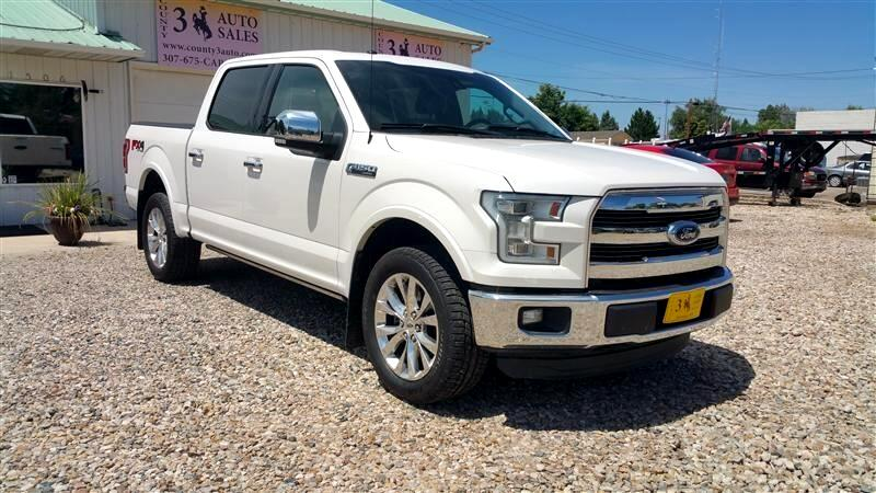 2016 Ford F-150 Lariat 4WD SuperCrew 5.5' Box