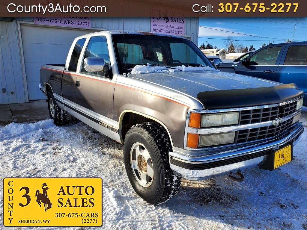 Chevrolet C/K 1500 Ext. Cab 6.5-ft. Bed 4WD 1992