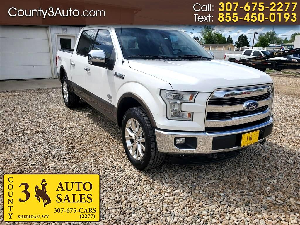 """Ford F-150 4WD SuperCrew 145"""" King Ranch 2015"""