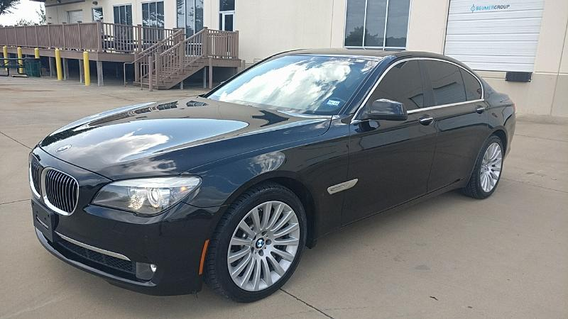 2012 BMW 750i Sport Package