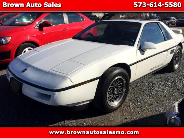 1988 Pontiac Fiero Base