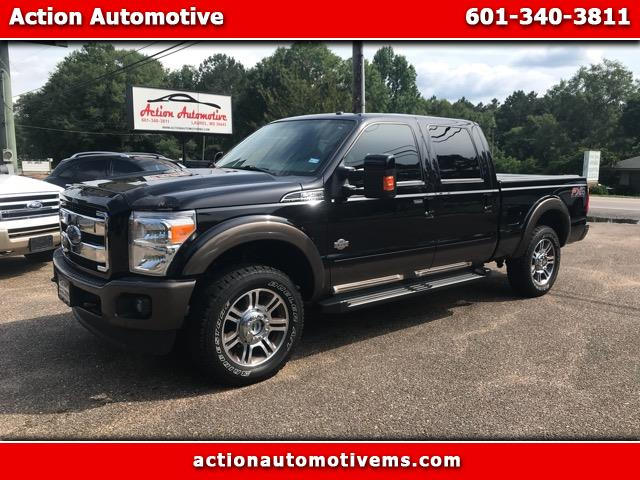 2016 Ford F-250 SD King Ranch Crew Cab 4WD