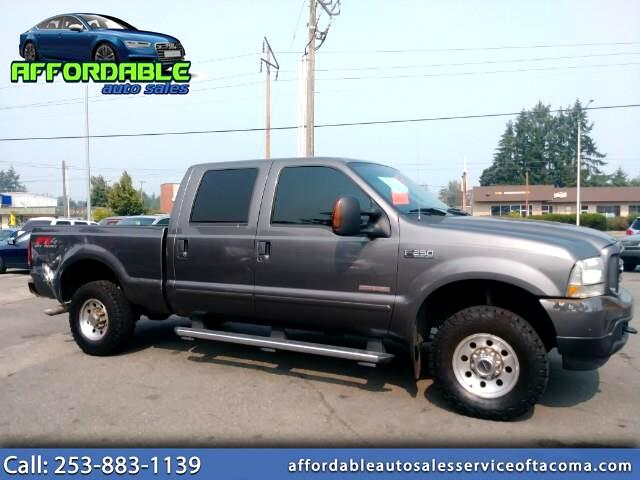 2004 Ford F-250 SD Lariat Crew Cab Long Bed 4WD