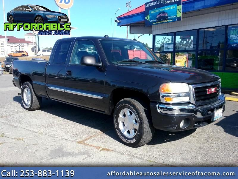 GMC Sierra 1500 Work Truck Ext. Cab Short Bed 4WD 2004