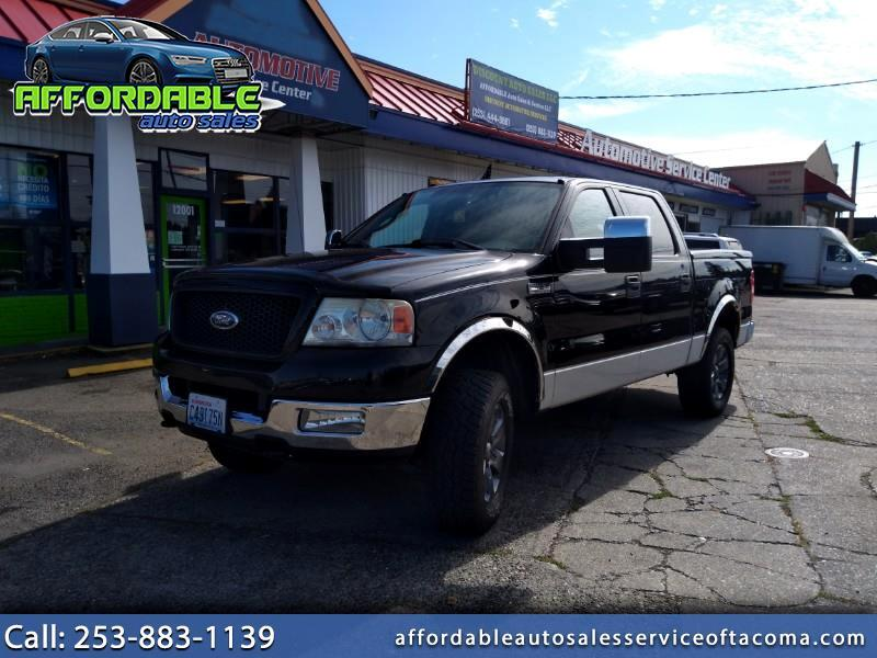 Ford F-150 Lariat SuperCrew 4WD 2004