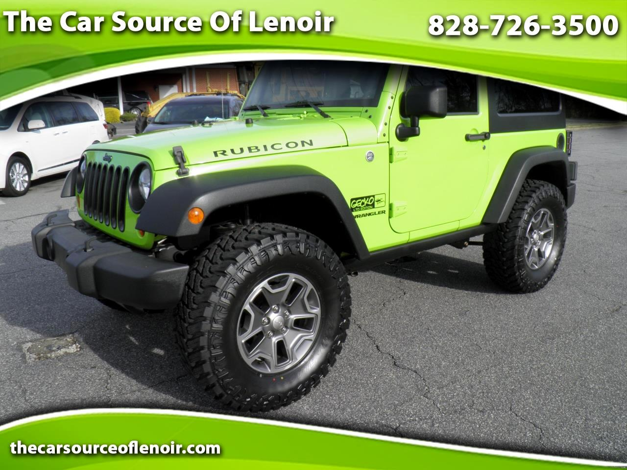 2013 Jeep Wrangler Rubicon 4WD