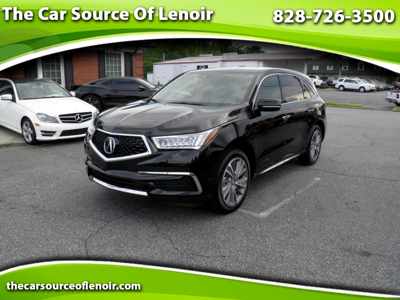 2017 Acura MDX SH-AWD 9-Spd AT w/Tech Package