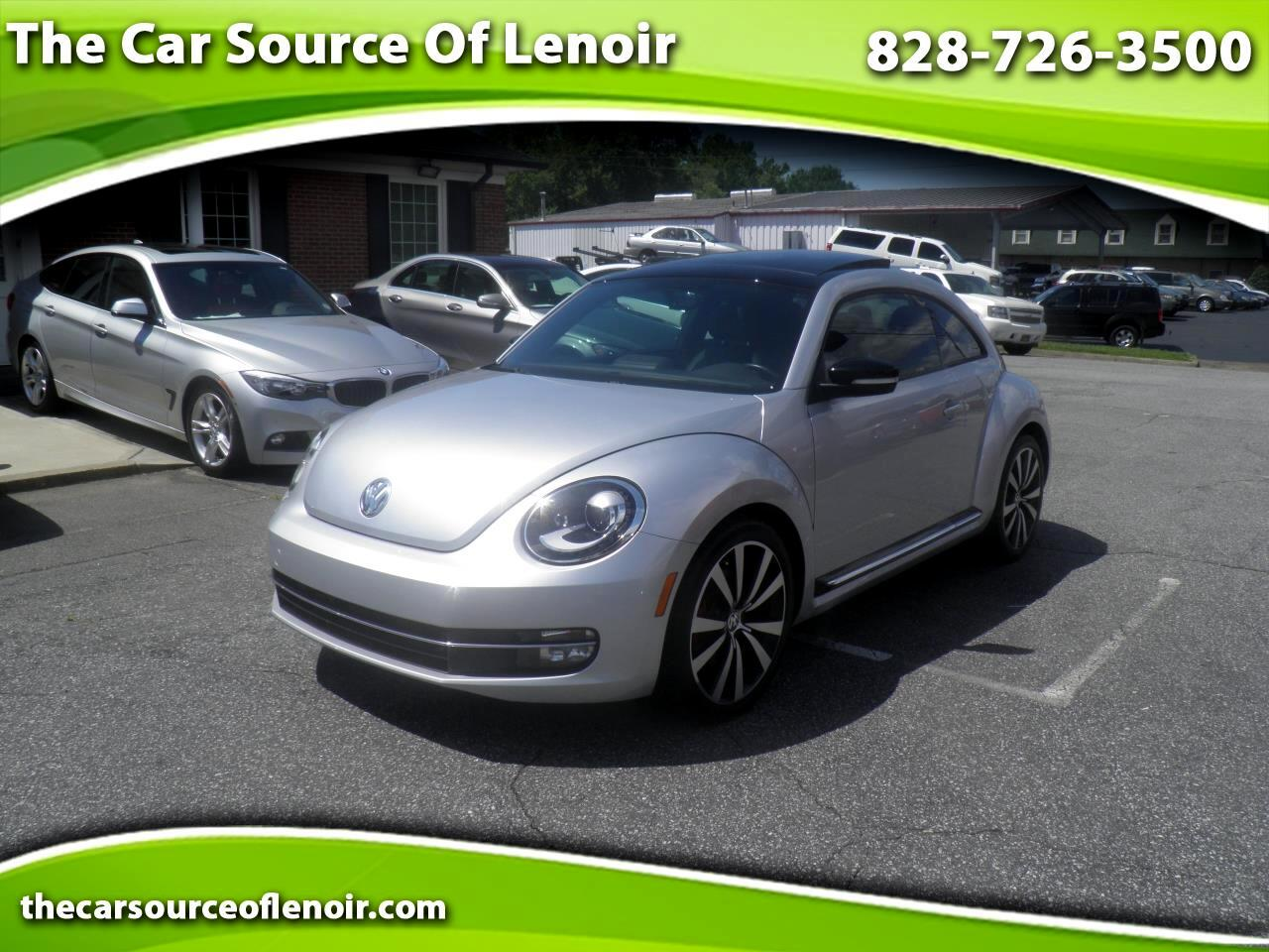 2012 Volkswagen Beetle Beetle Turbo w/ Sunroof, Sound, and Navigation
