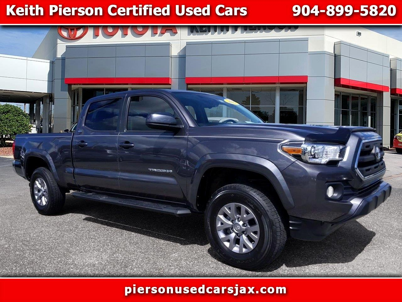 2017 Toyota Tacoma SR5 Double Cab 6' Bed V6 4x4 AT (Natl)
