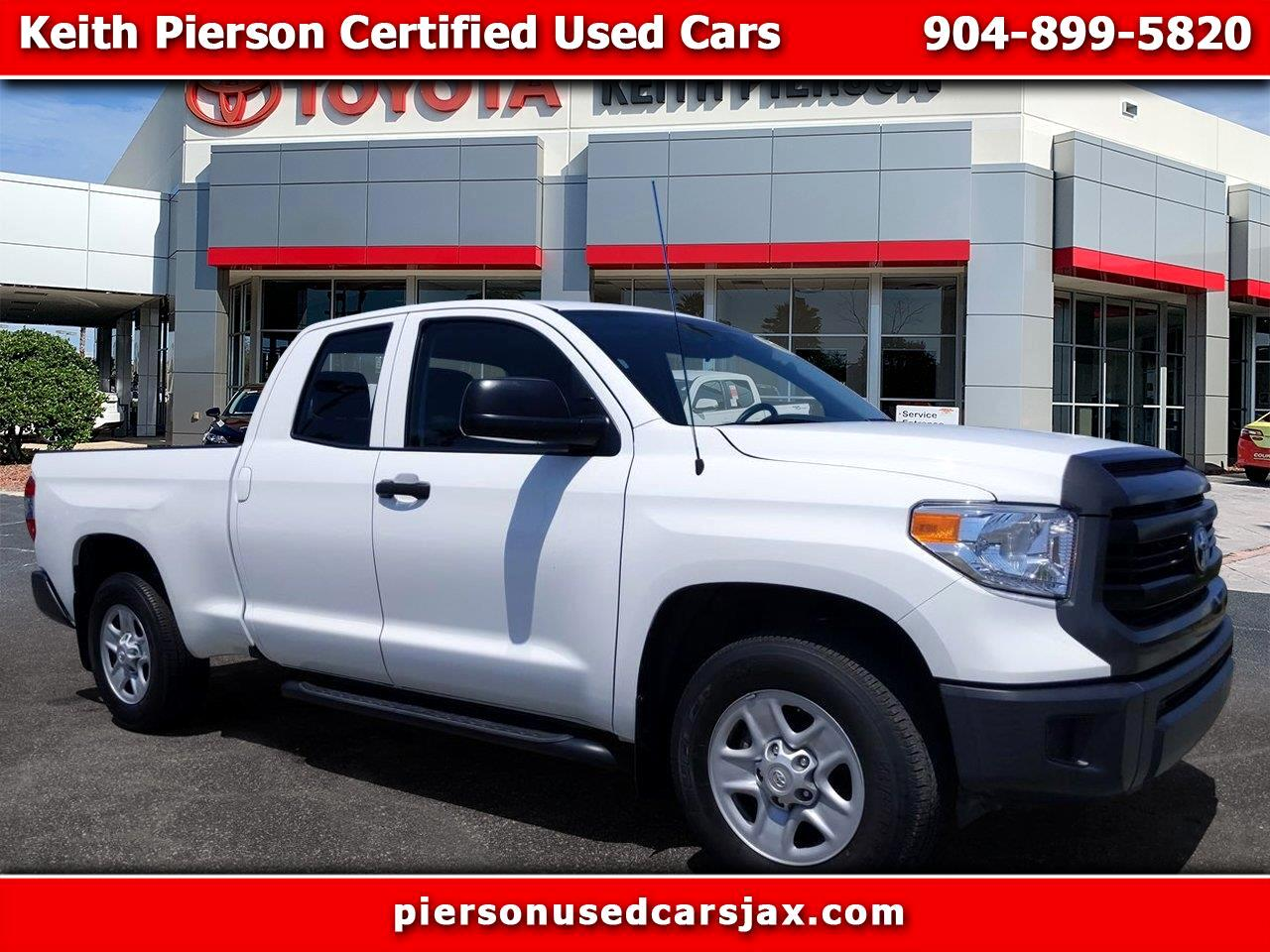 2015 Toyota Tundra Double Cab 4.6L V8 6-Spd AT SR5 (Natl)