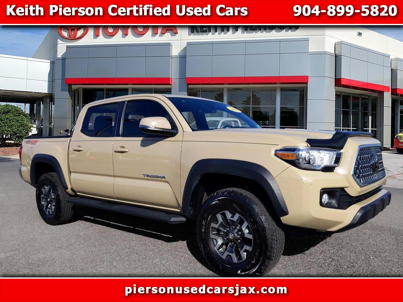 2018 Toyota Tacoma 4WD Double Cab V6 AT TRD Off Road (Natl)