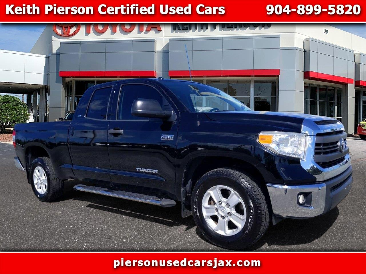 2015 Toyota Tundra 2WD Truck Double Cab 5.7L V8 6-Spd AT SR5 (Natl)