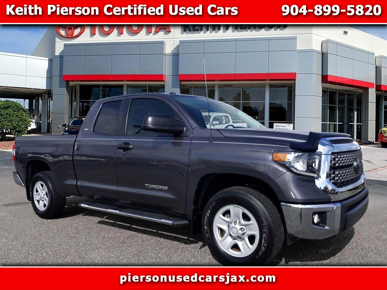 2018 Toyota Tundra 2WD SR Double Cab 6.5' Bed 4.6L (Natl)