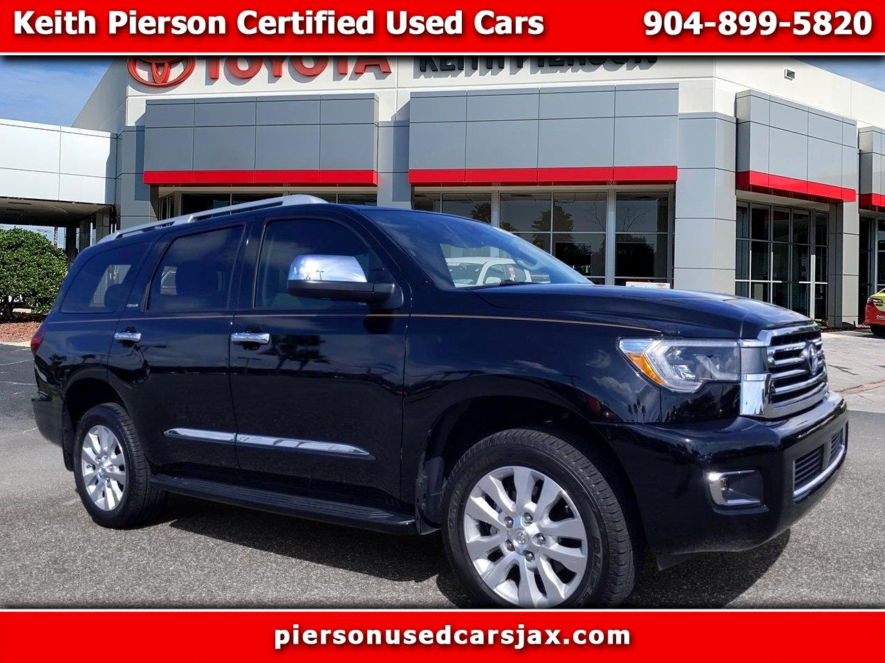 2019 Toyota Sequoia Platinum 4WD (Natl)