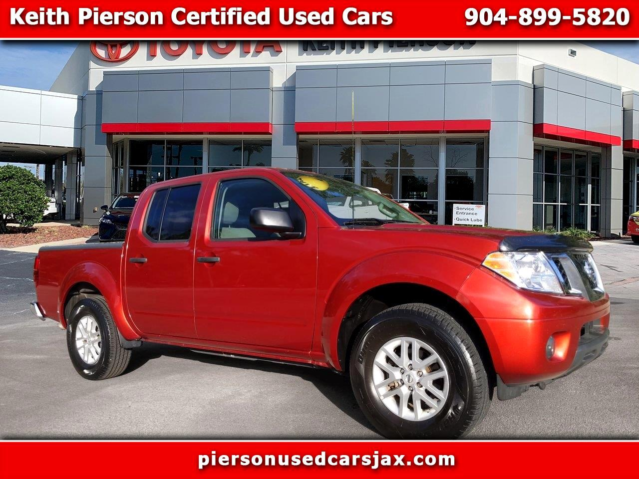 2017 Nissan Frontier Crew Cab 4x4 SV V6 Auto *Ltd Avail*