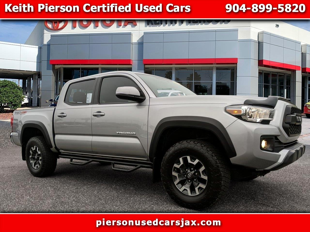 2017 Toyota Tacoma SR5 Double Cab 5' Bed V6 4x4 AT (Natl)