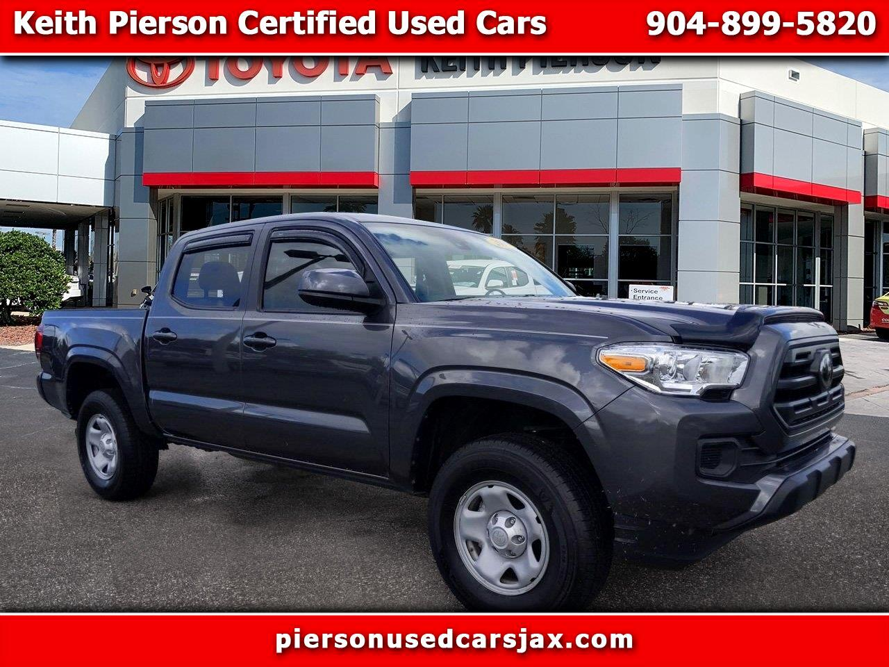 2019 Toyota Tacoma 2WD SR Double Cab 5' Bed I4 AT (Natl)