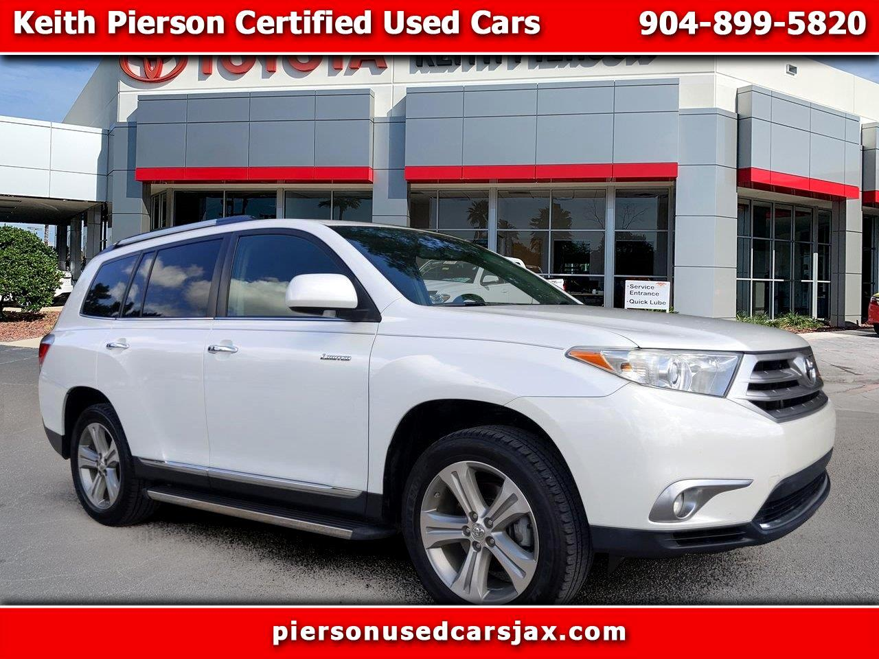 2012 Toyota Highlander FWD 4dr V6  Limited (Natl)