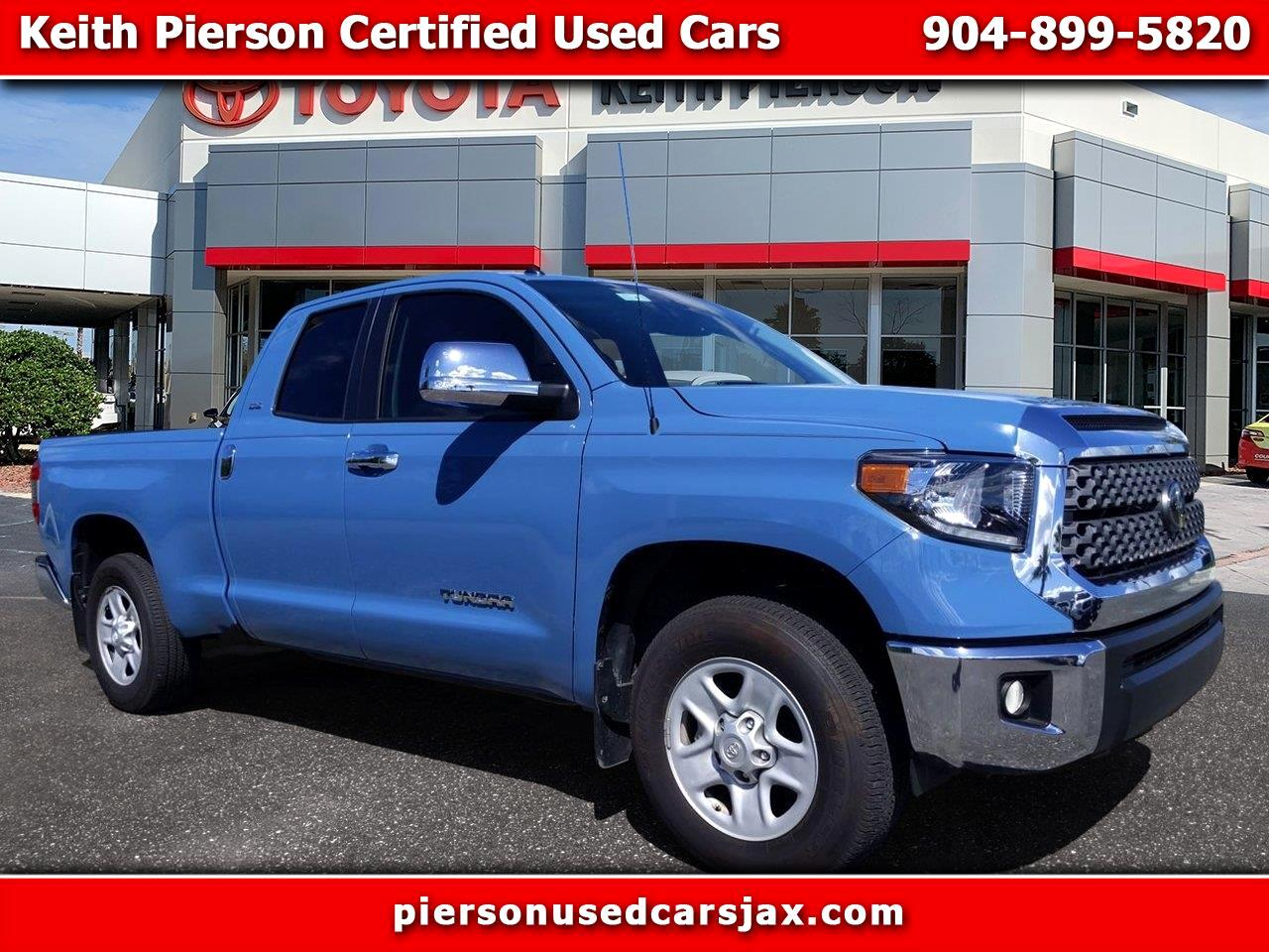 2019 Toyota Tundra 2WD SR Double Cab 6.5' Bed 4.6L (Natl)