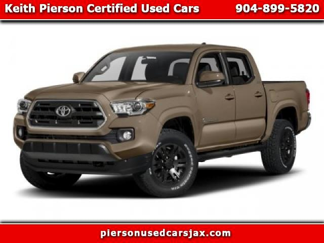Toyota Tacoma SR5 Double Cab Long Bed I4 6AT 2WD 2017