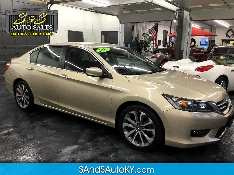 2015 Honda Accord Sport Sedan CVT