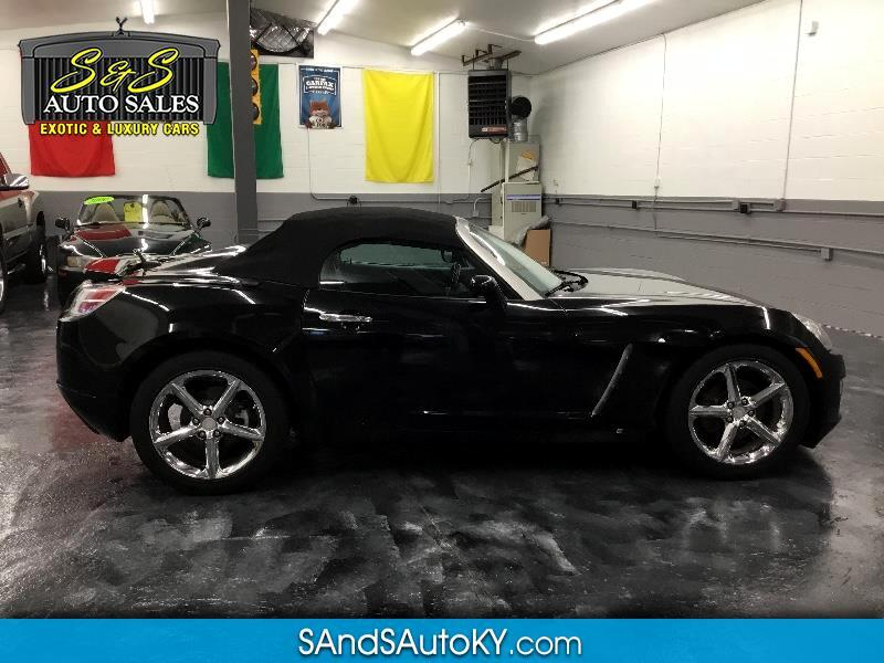 2009 Saturn Sky Red Line Ruby Red Special Edition