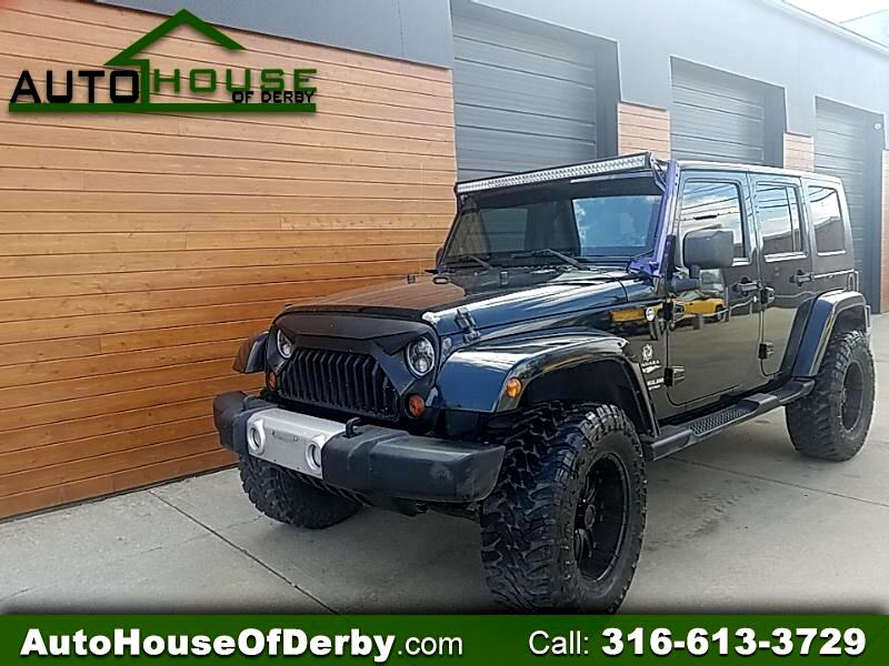 2010 Jeep Wrangler 4WD 4dr Unlimited Sahara