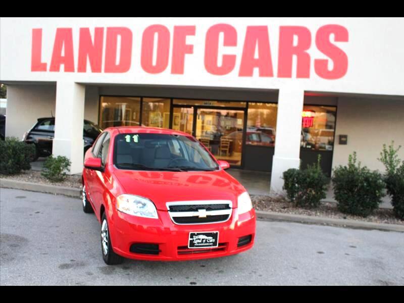 2011 Chevrolet Aveo LS 4-Door