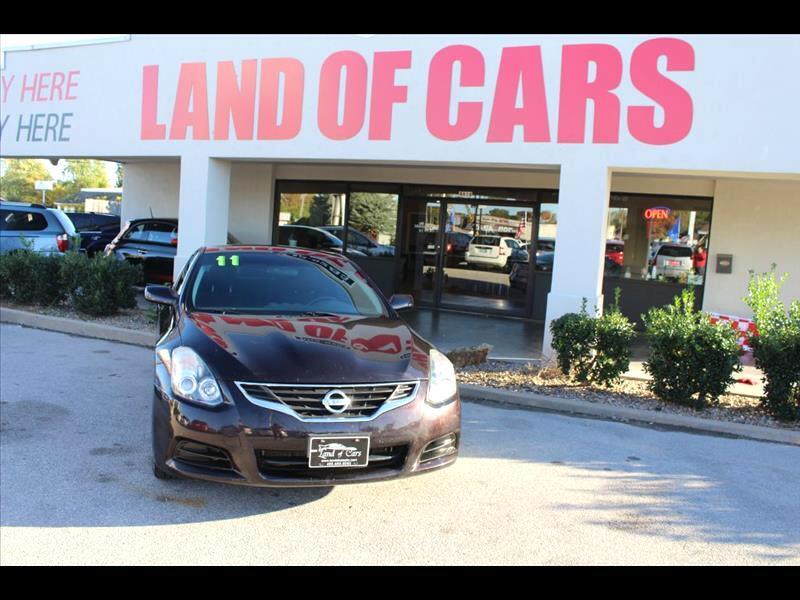 2011 Nissan Altima 2.5 S CVT Coupe