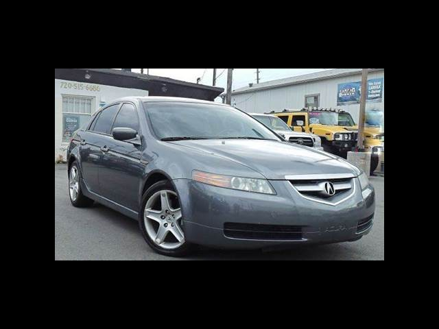 2004 Acura TL 6-speed MT with Navigation System