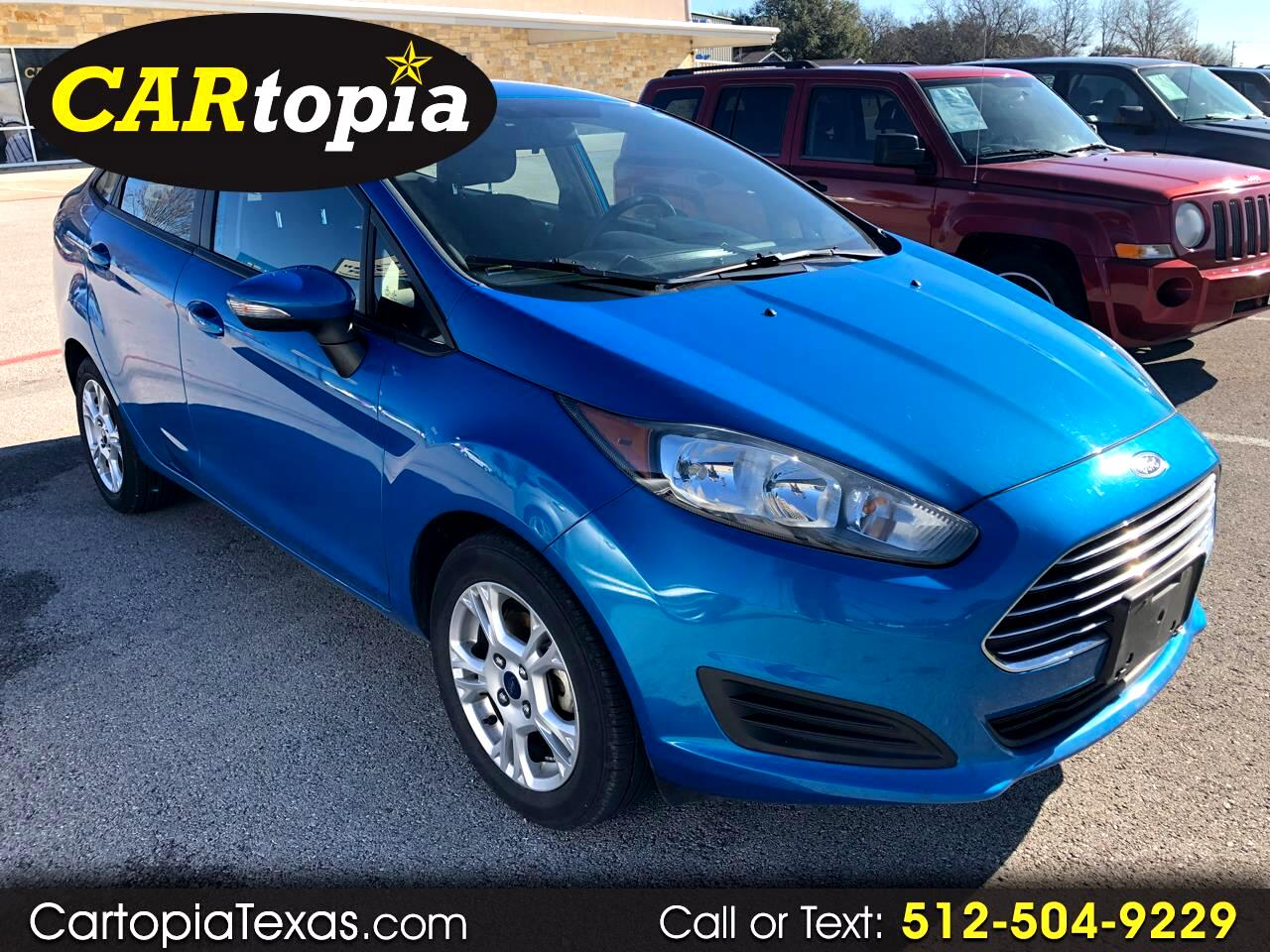 2014 Ford Fiesta 4dr Sdn SE