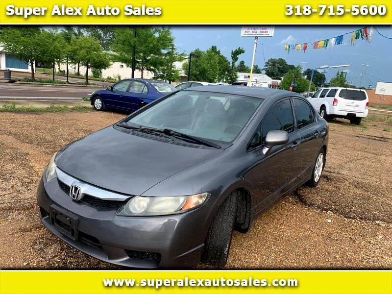 Honda Civic LX Sedan 5-Speed AT 2010