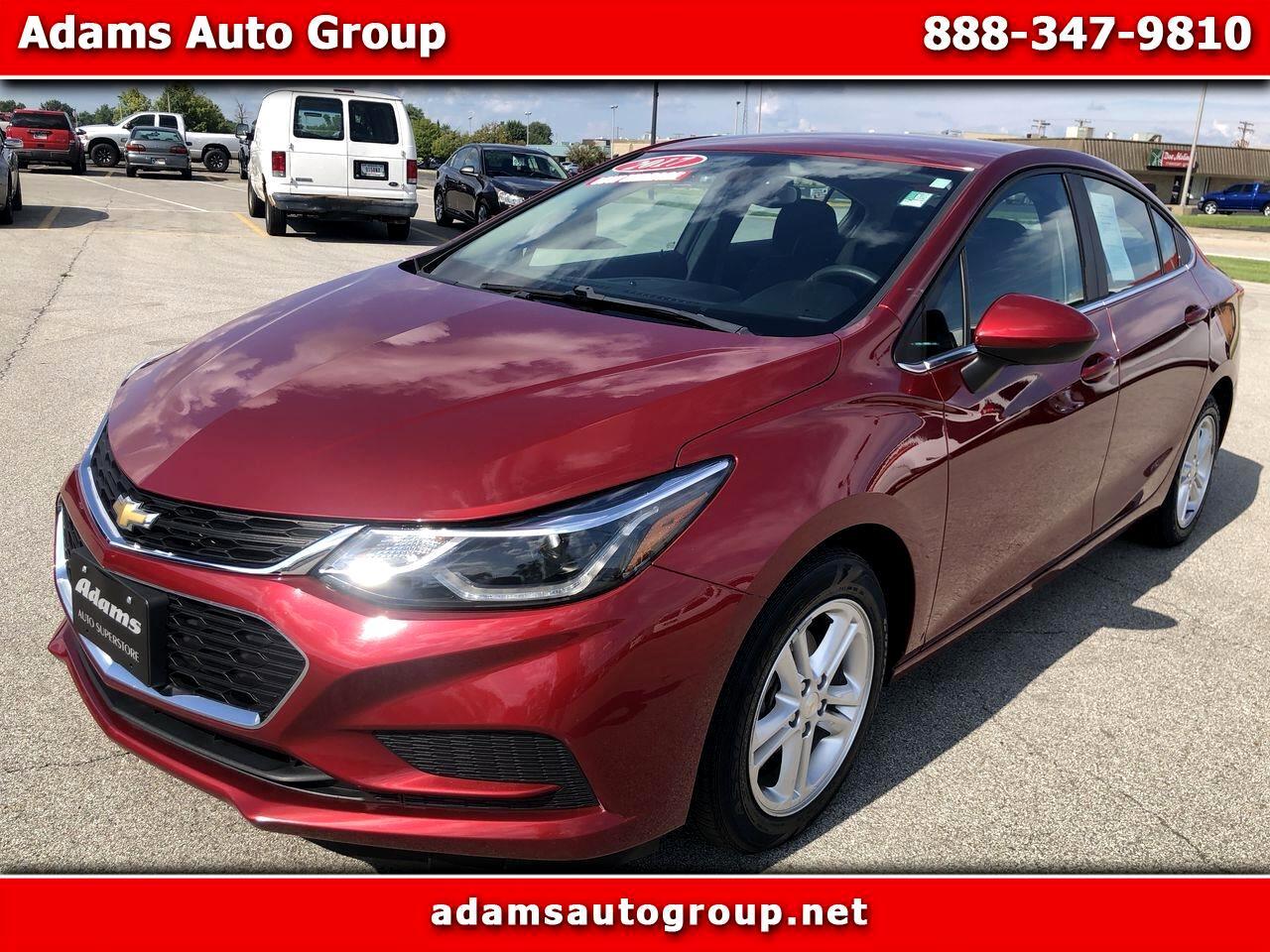 Chevrolet Cruze 4dr Sdn 1.4L LT w/1SD 2017