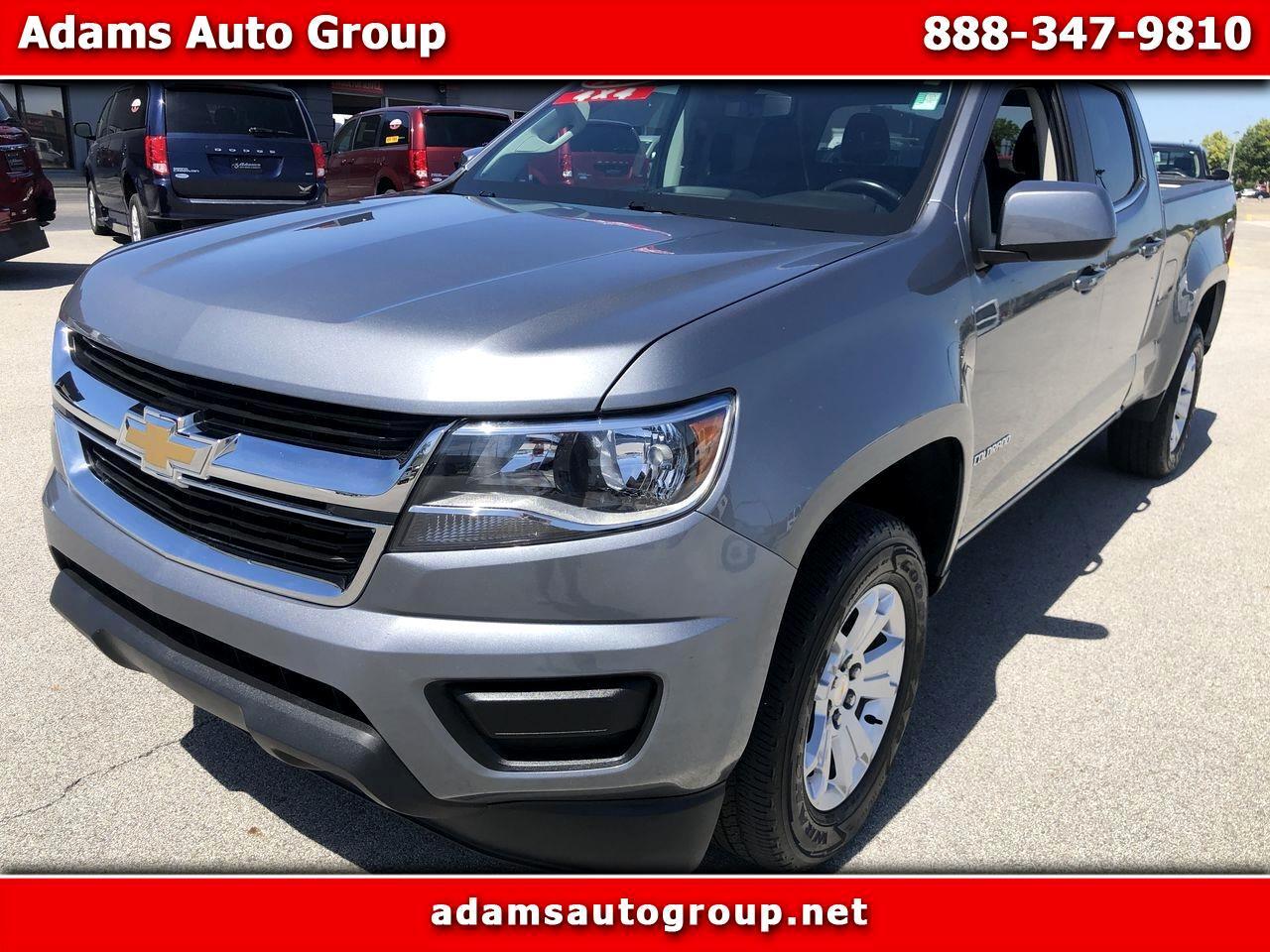 """Chevrolet Colorado 4WD Crew Cab 140.5"""" LT 2018"""