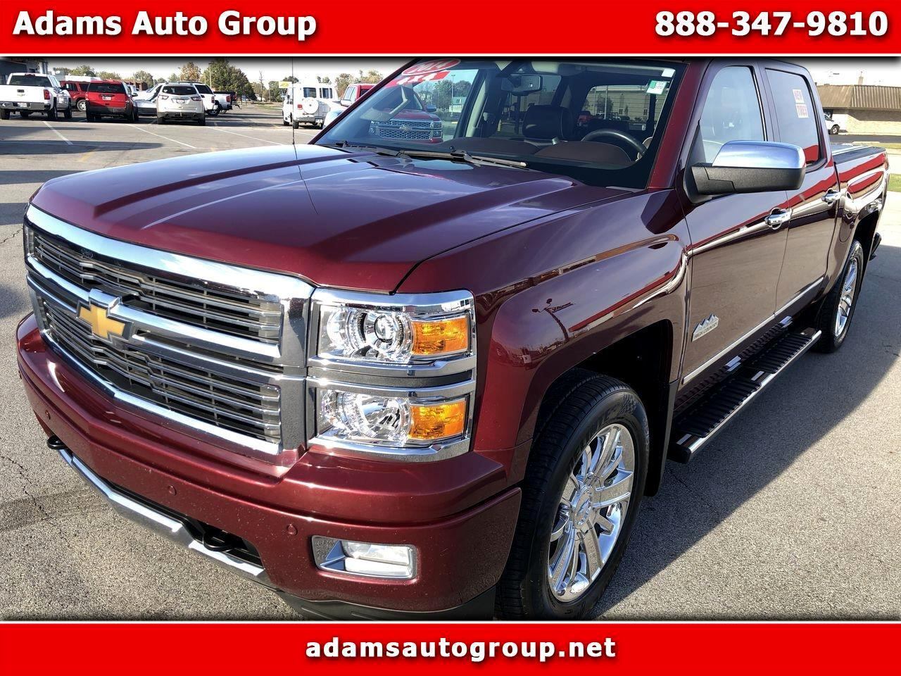 "Chevrolet Silverado 1500 4WD Crew Cab 143.5"" High Country 2014"