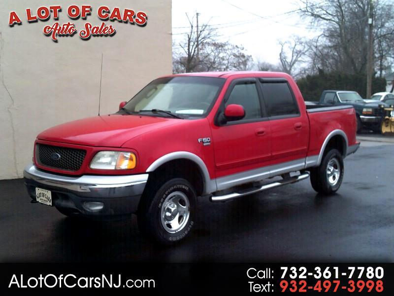 2003 Ford F-150 4WD SuperCab 145