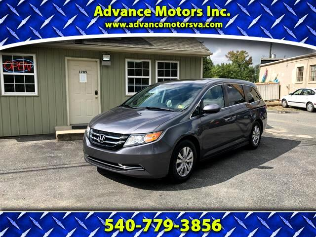 2014 Honda Odyssey 5dr EX-L RES w/DVD/Leather