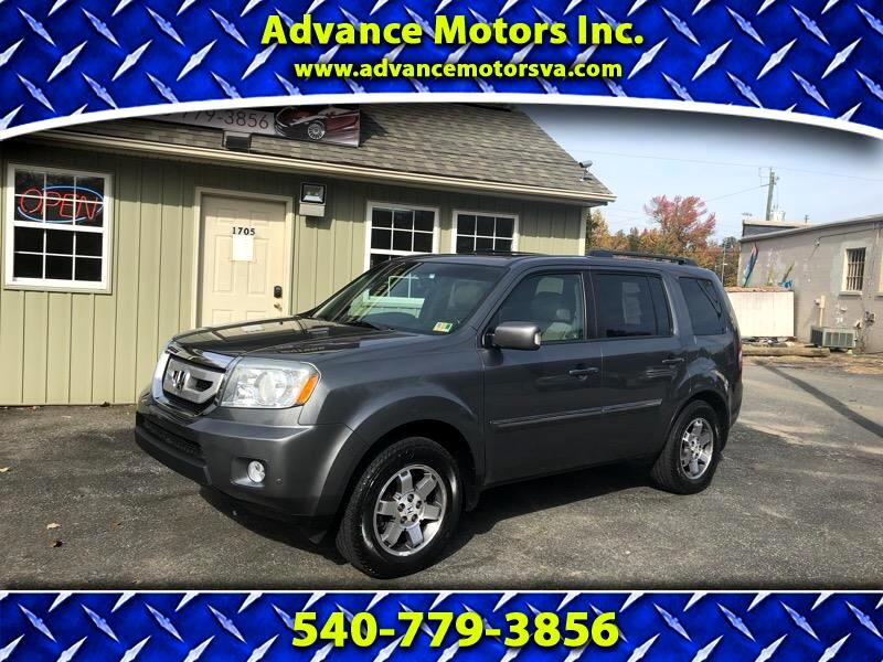2010 Honda Pilot Touring 4WD 5-Spd AT with DVD