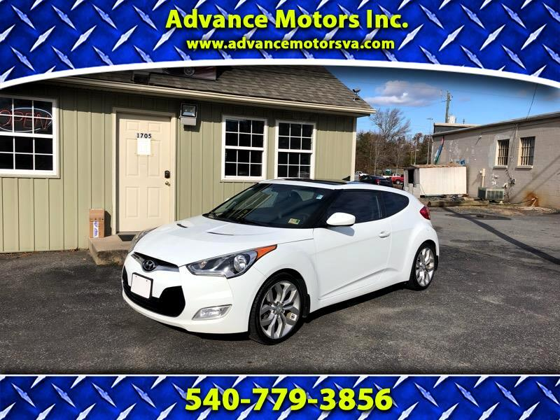 2013 Hyundai Veloster 3dr Cpe Auto RE:FLEX w/Black Int