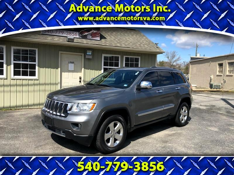 2012 Jeep Grand Cherokee 4dr Overland 4WD