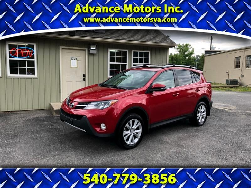 2013 Toyota RAV4 4dr Limited 4-cyl (Natl)
