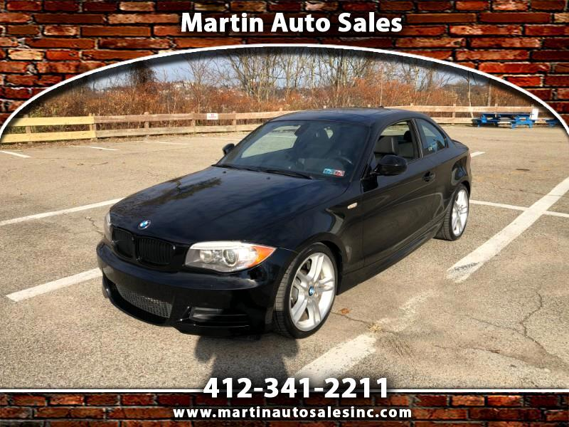 BMW 1-Series 135i Coupe 2012