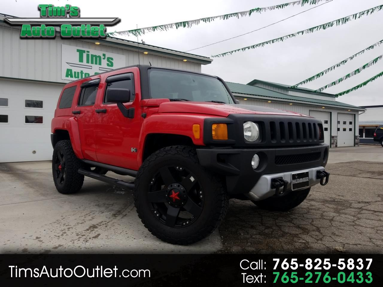 2008 HUMMER H3 4WD 4dr SUV Luxury