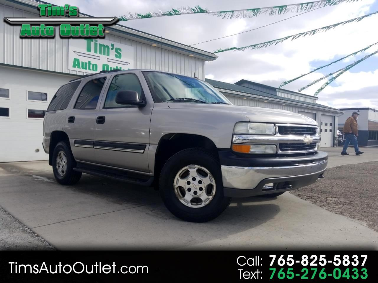2004 Chevrolet Tahoe 4dr 1500 4WD LS