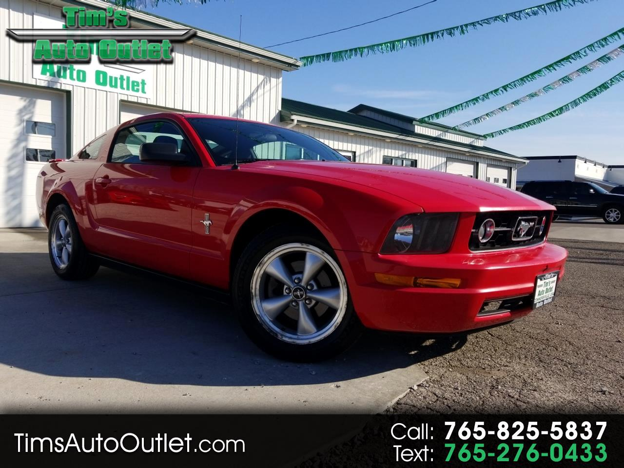 2008 Ford Mustang 2dr Cpe Premium