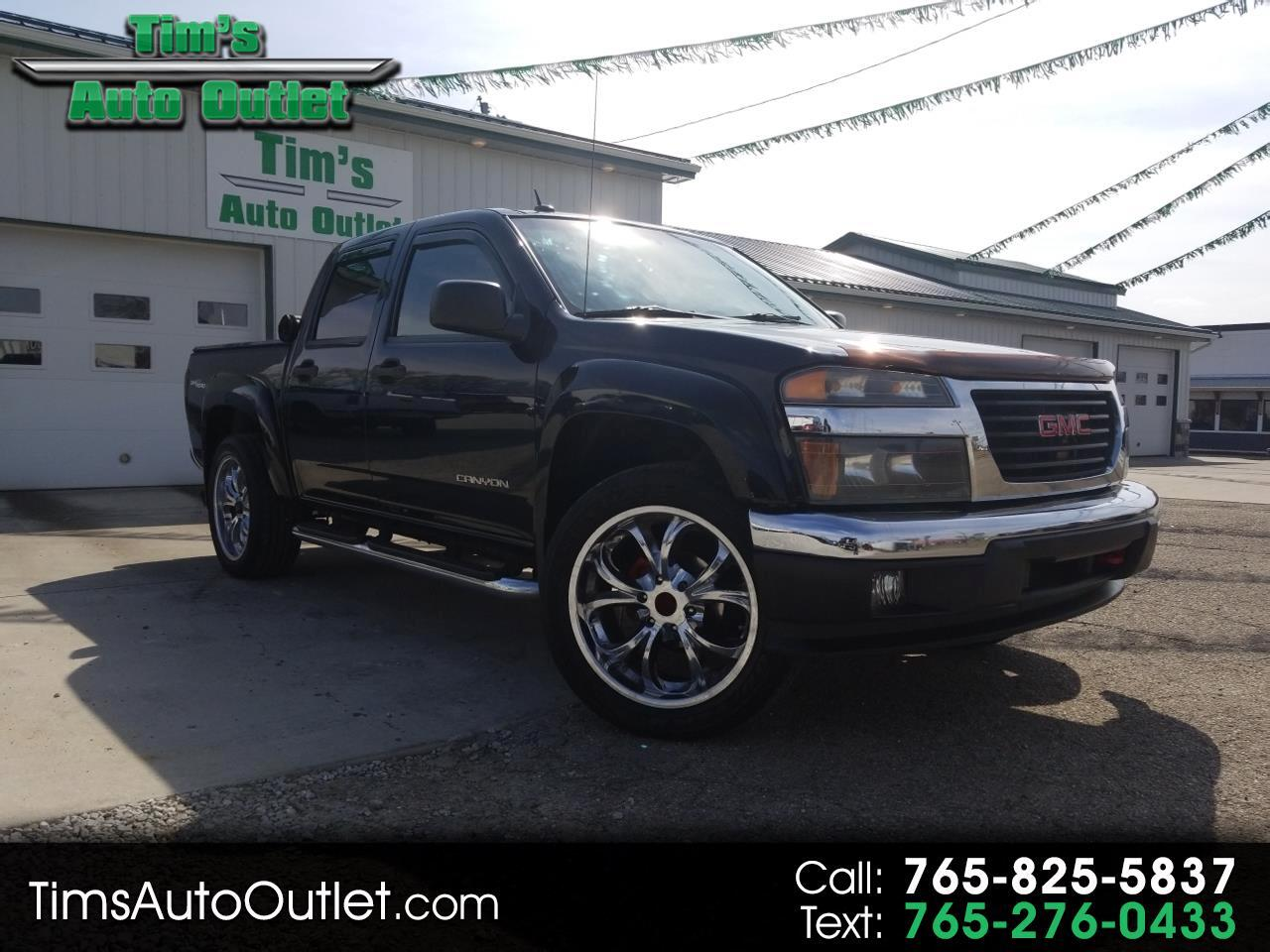 2005 GMC Canyon Crew Cab 126.0