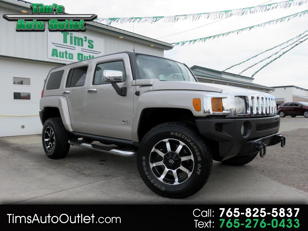 2007 HUMMER H3 4WD 4dr SUV Luxury