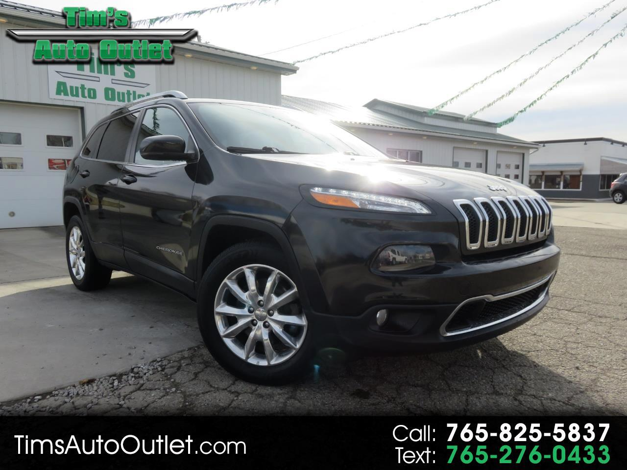 Jeep Cherokee 4WD 4dr Limited 2016
