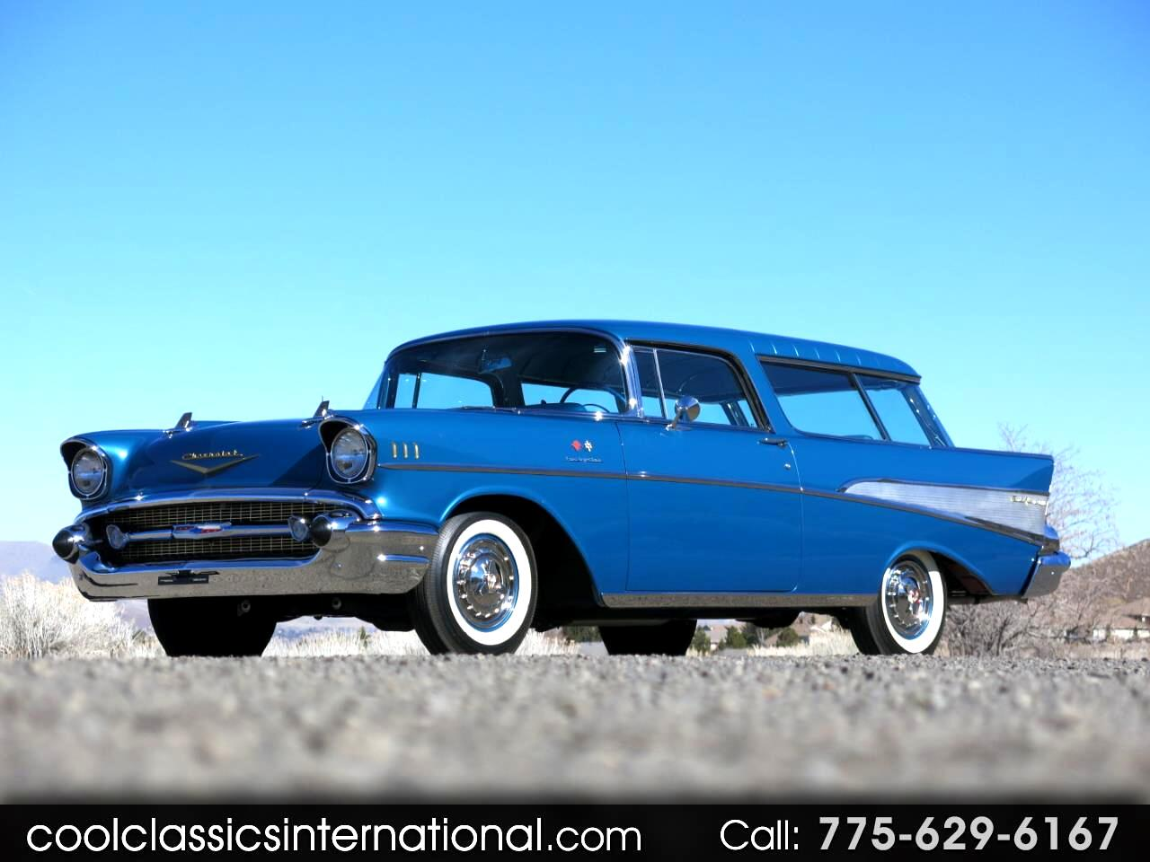 1957 Chevrolet Nomad Bel Air Fuel Injection
