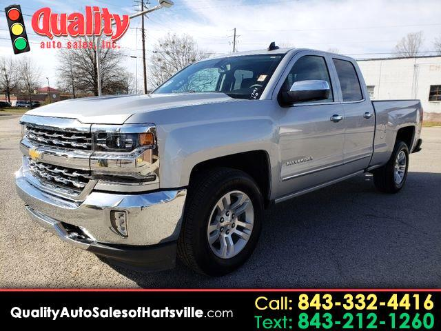 2018 Chevrolet Silverado 1500 LTZ Double Cab Short Box 2WD